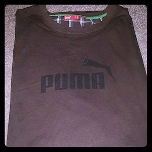 Puma Tee Shirt Brown Size XXL